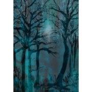 Der Wald - Postkarte