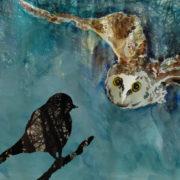 """aus dem Buch """"Der kleine schwarze Vogel"""""""